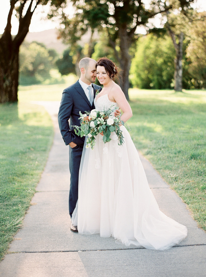 This Blue California Wedding Is Romantic In All The Right Ways