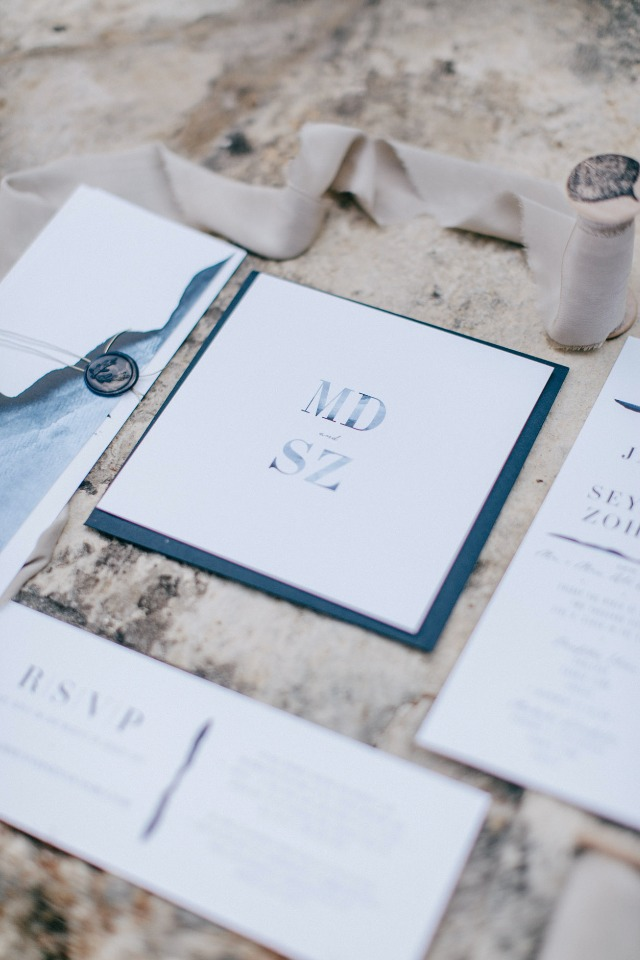 simple and sweet wedding invitations
