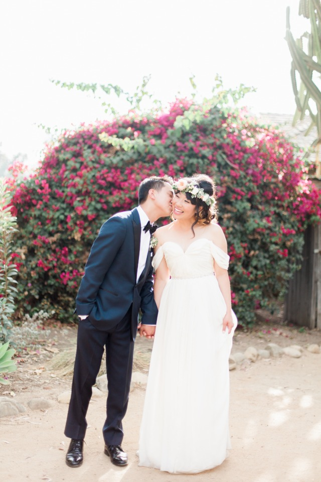 Beautiful outdoor boho chic wedding