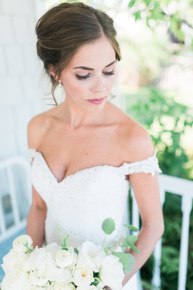 wedding hair and makeup idea