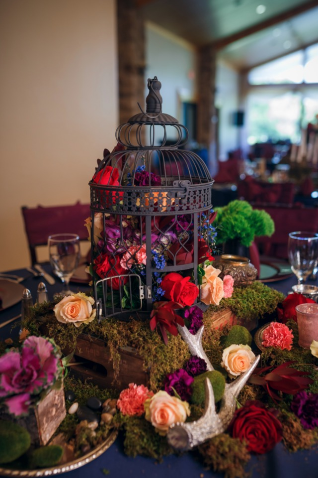 fairy tale wedding centerpieces