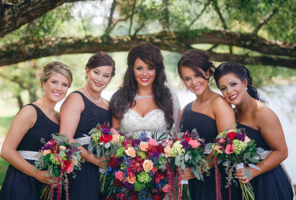 bridal party wedding style