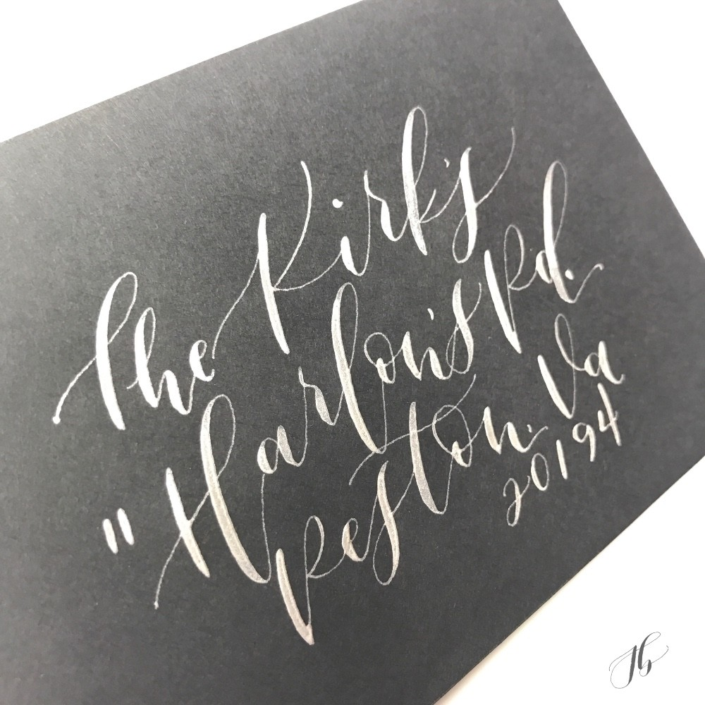 Profile Image from Jessica Barbee Calligraphy