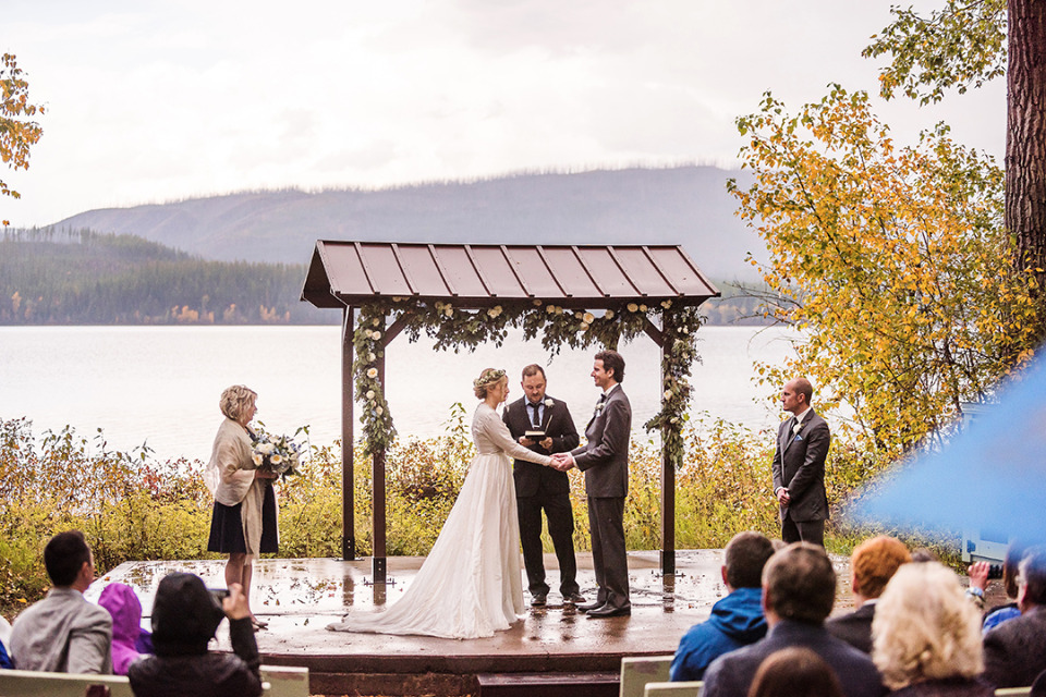 national park wedding ceremony