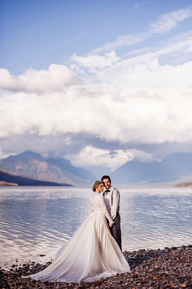 The Dress For This National Park Wedding Has An Unbelievable Story