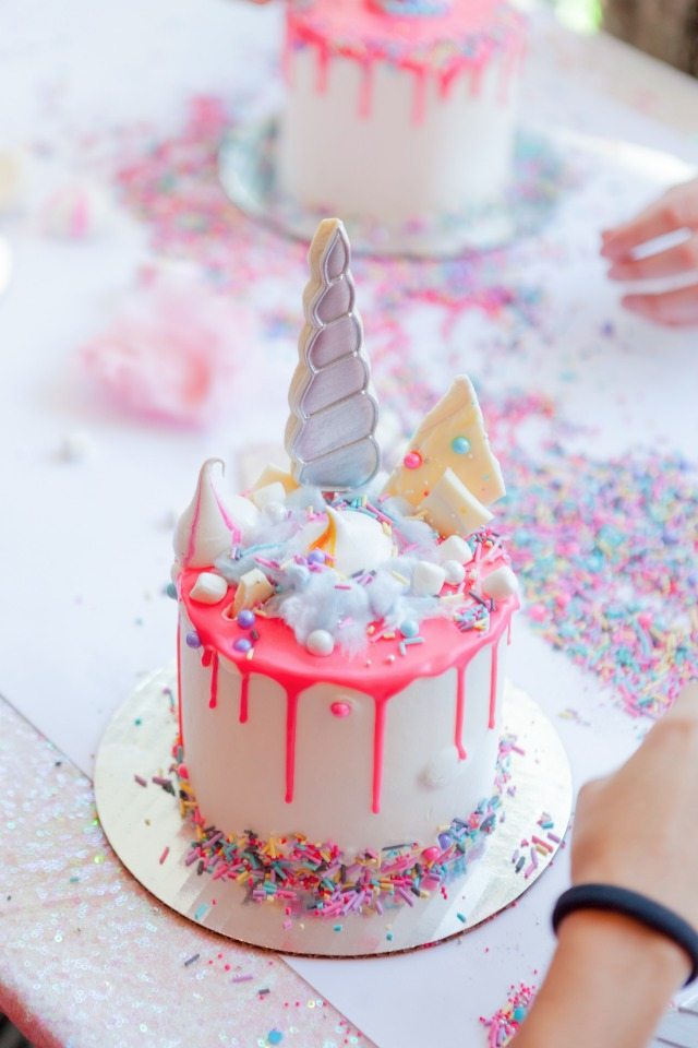 Unicorn themed bridal shower ideas