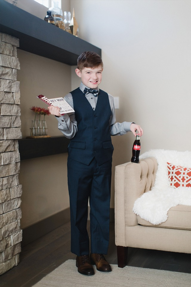 ring bearer outfit idea from Generation Tux