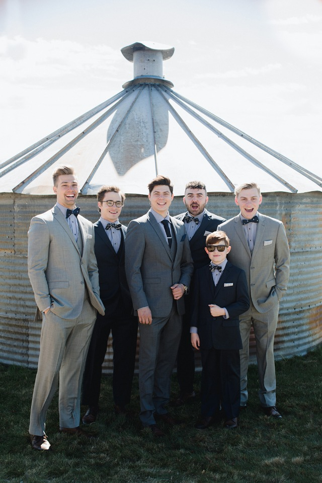 Groomsmen outfit idea from Generation Tux