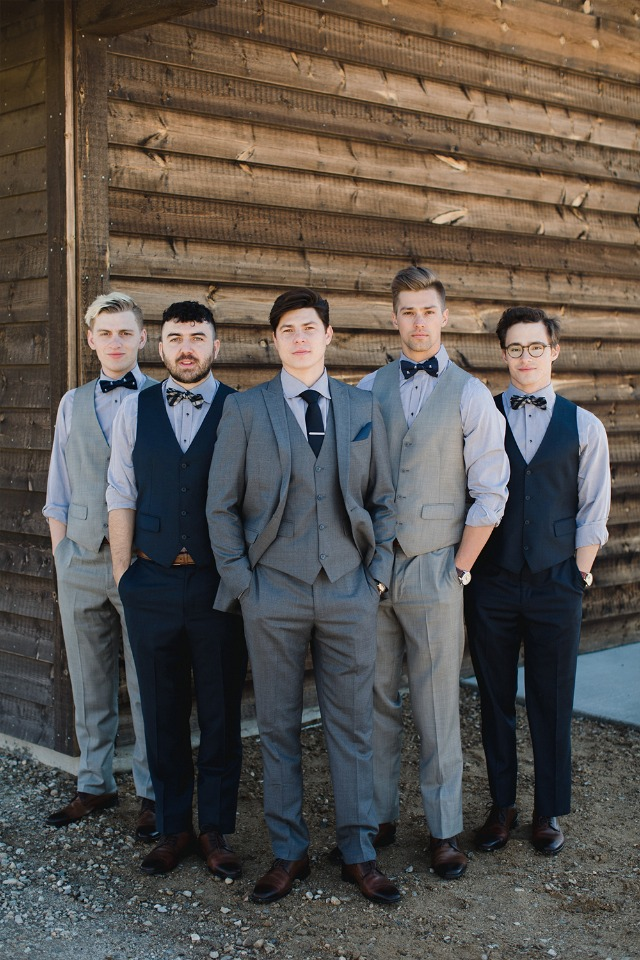 Groomsmen look ideas from Generation Tux