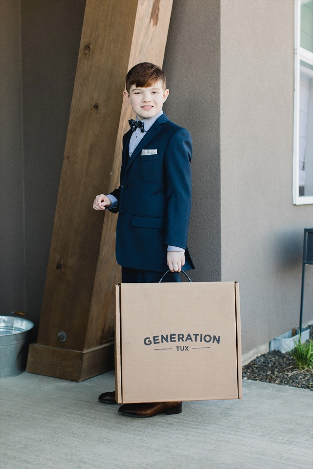 Generation Tux ring bearer ideas.