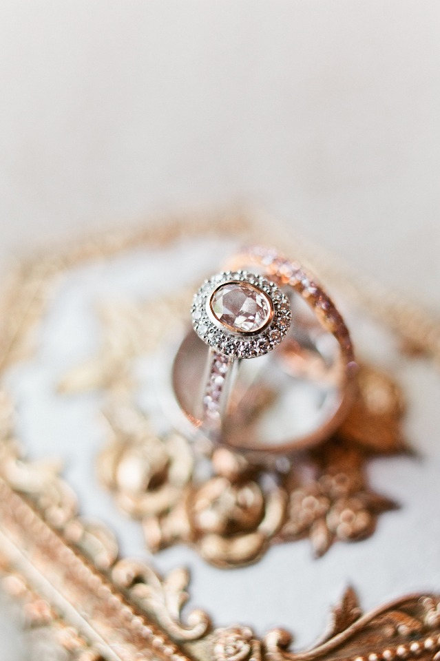 Gorgeous blush diamond