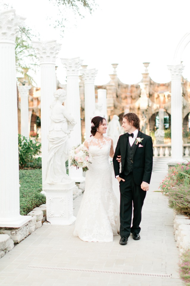 They got married in FLORIDA - wait till you see this venue