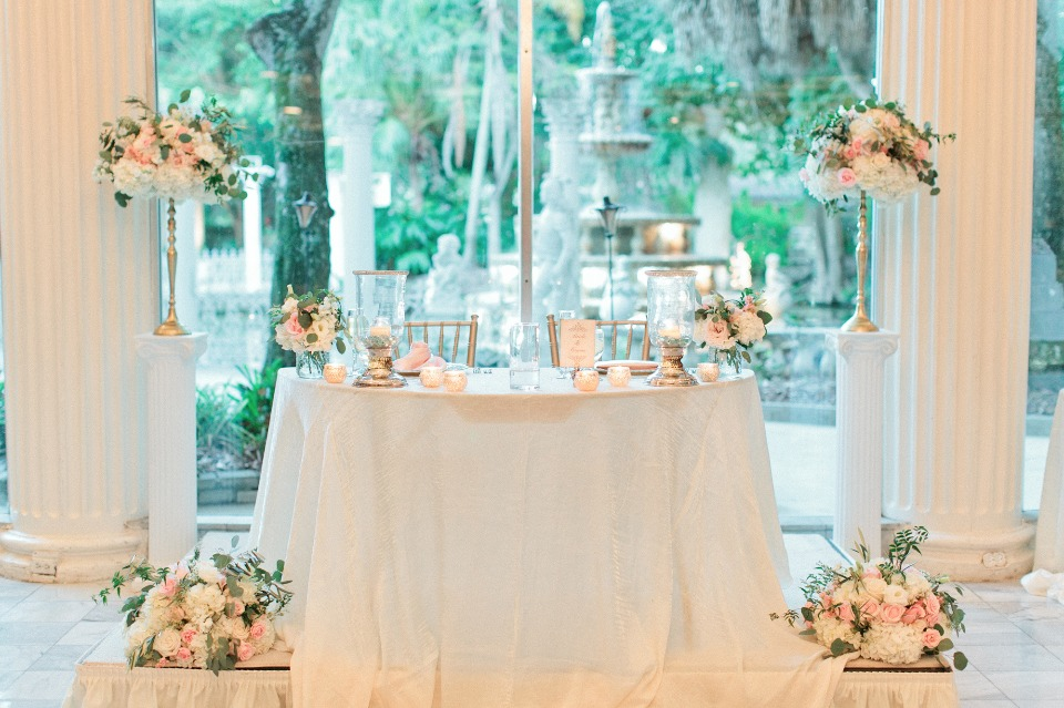 Prettiest sweetheart table