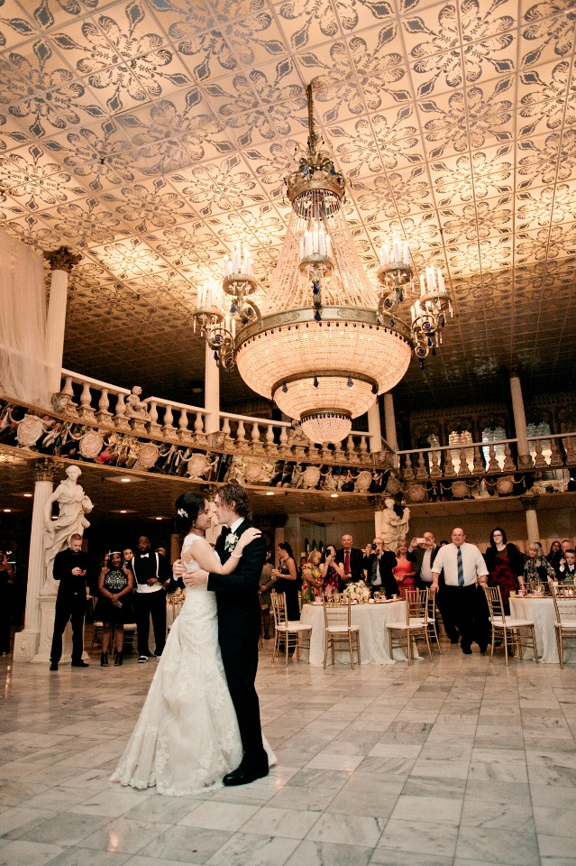 Dreamy first dance