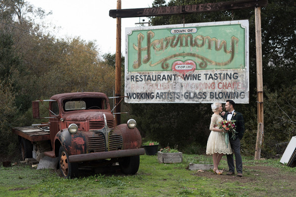 Getting Married In A Quirky Little Town Has Seriously Lovely Perks