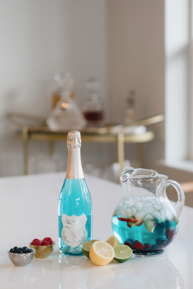 Blanc De Bleu Signature Drink Recipe