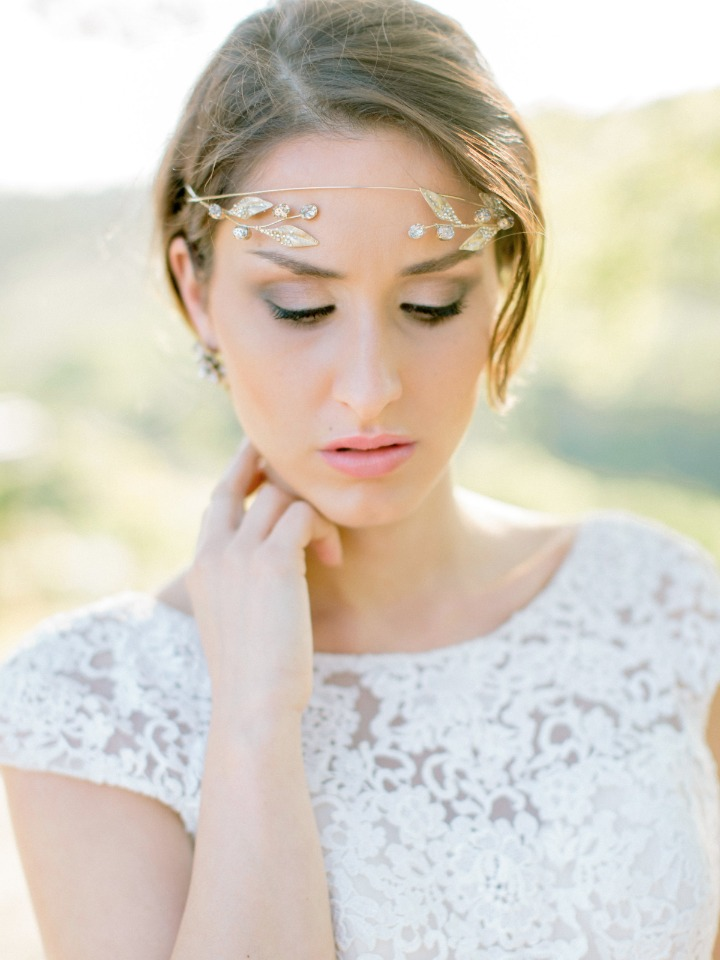 Perfect bridal head piece