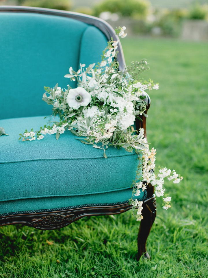 Elegant and overflowing bouquet