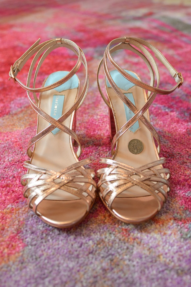 strappy Delilah shoes