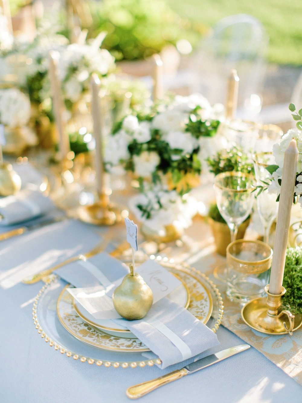 Gallery Opulent Blue And Gold Wedding Ideas From Tuscany