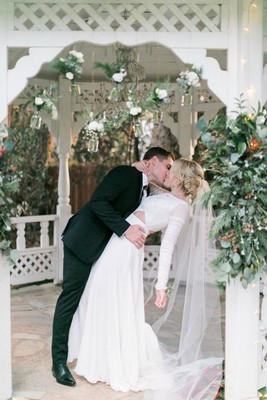 Forever Crushing on You Vintage Boho Wedding