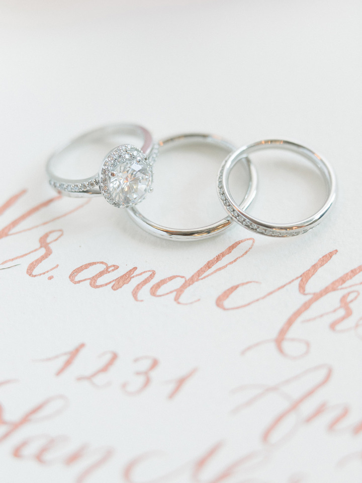 shiny diamond engagement rings