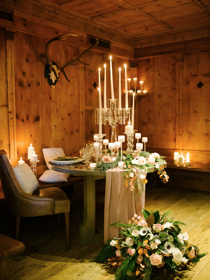 wedding reception sweetheart table ideas