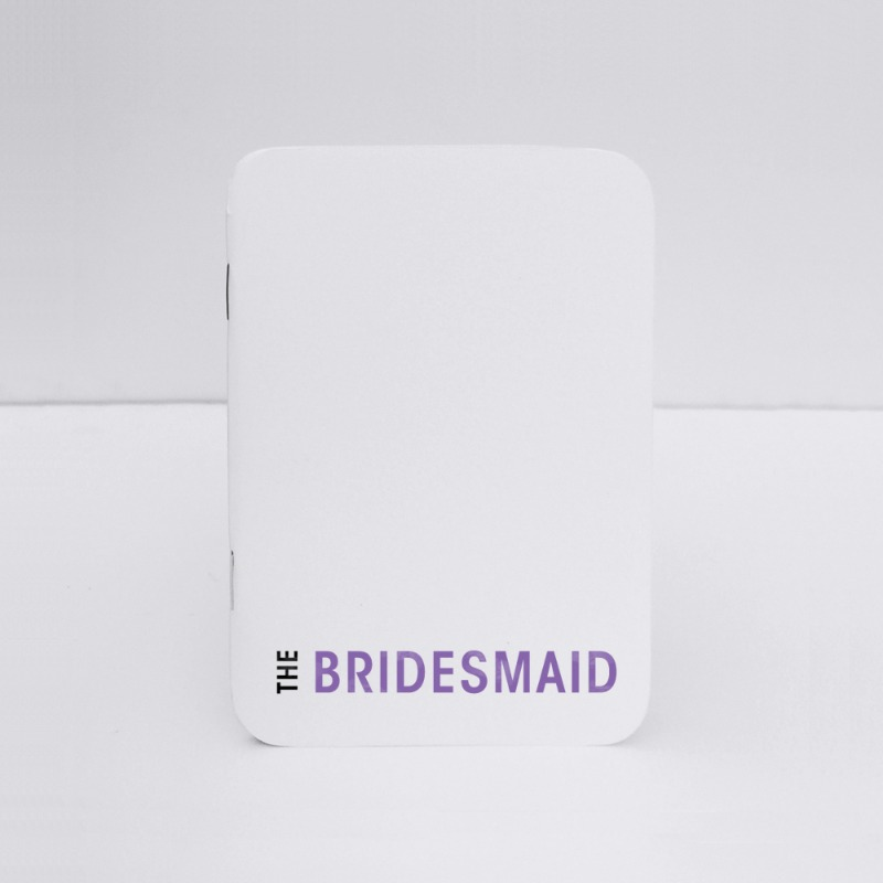 Will you be my bridesmaid notebook.