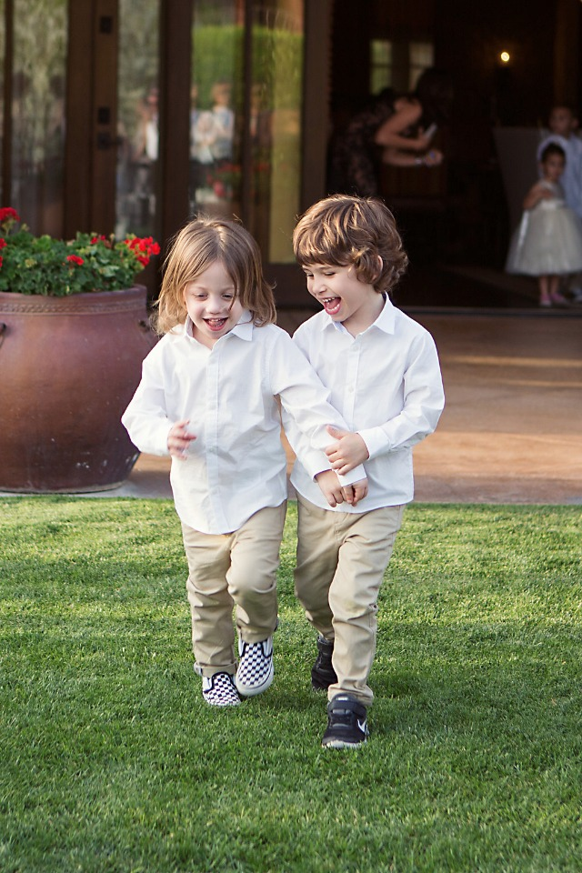 cute little ring bearers