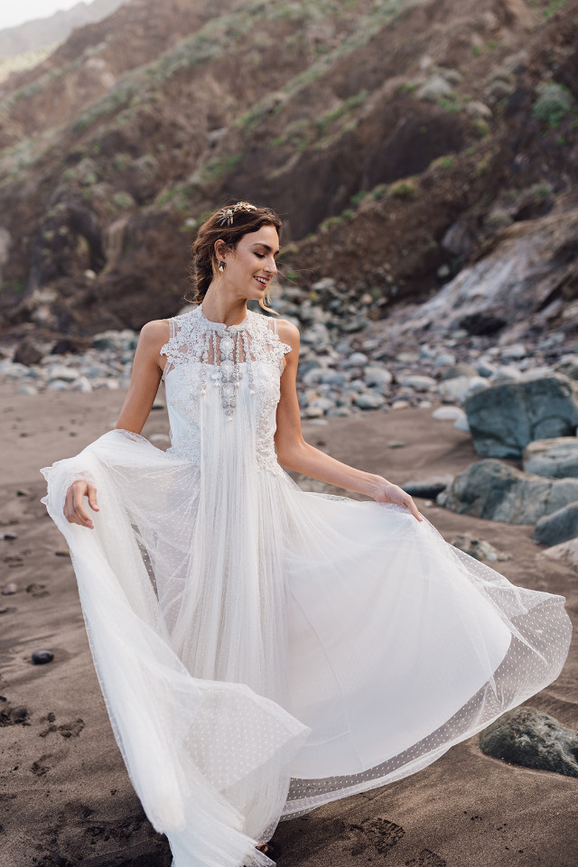 beautiful carefree bridal inspiration