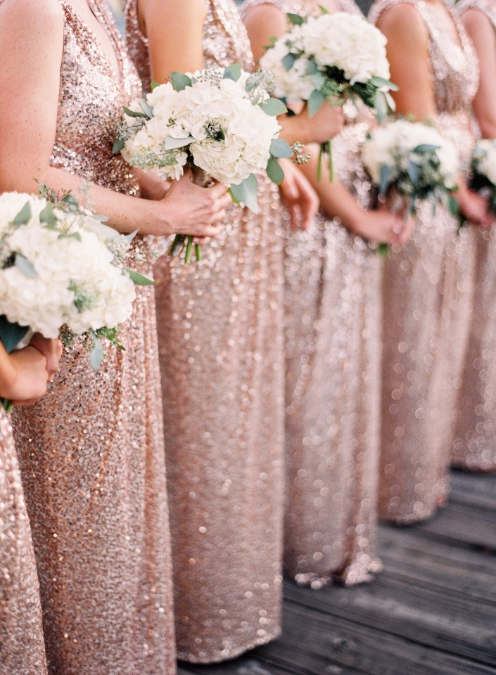 Pretty bridesmaid bouquets