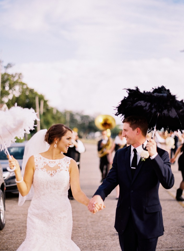 New Orleans wedding march