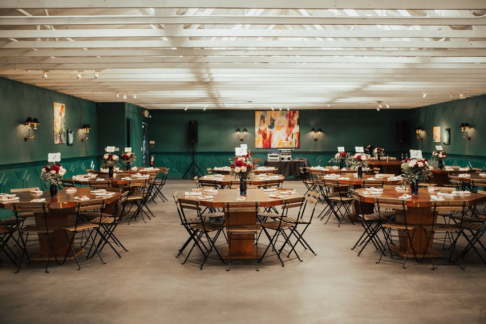 The Fig House wedding reception