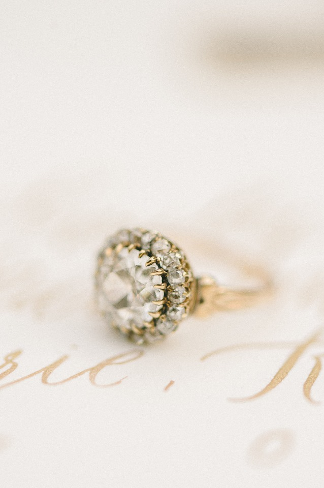 Gorgeous vintage diamond ring