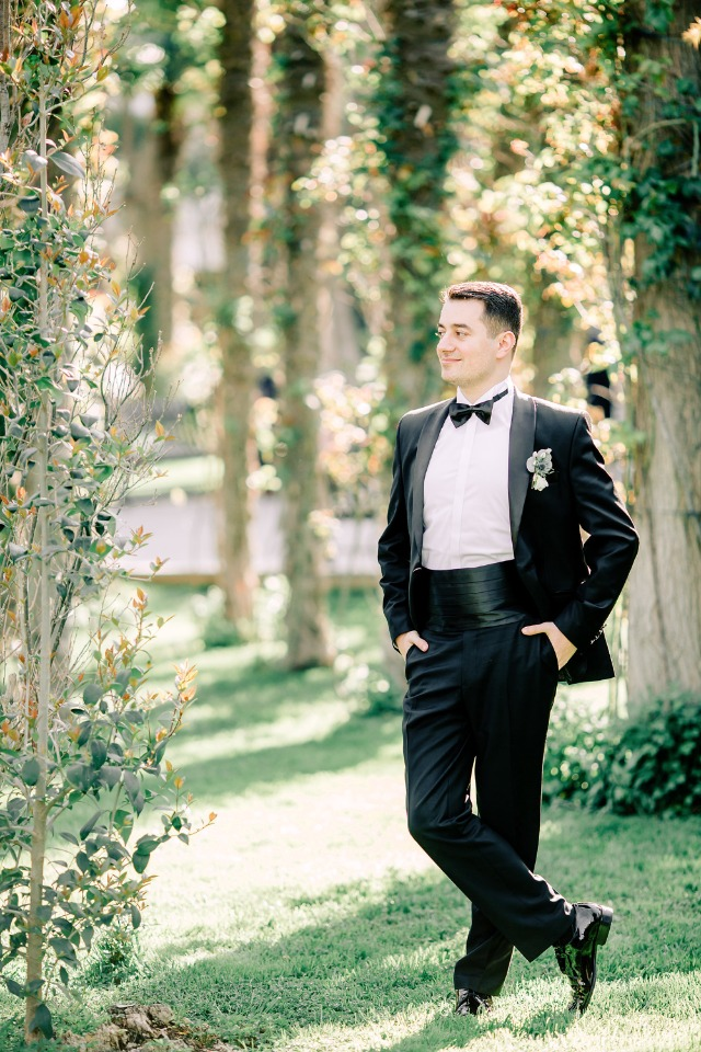 Classic tuxedo for the Groom