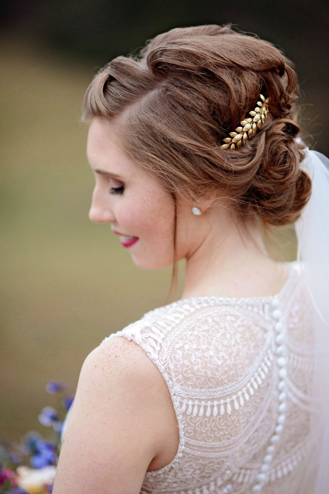 wedding hair updo idea