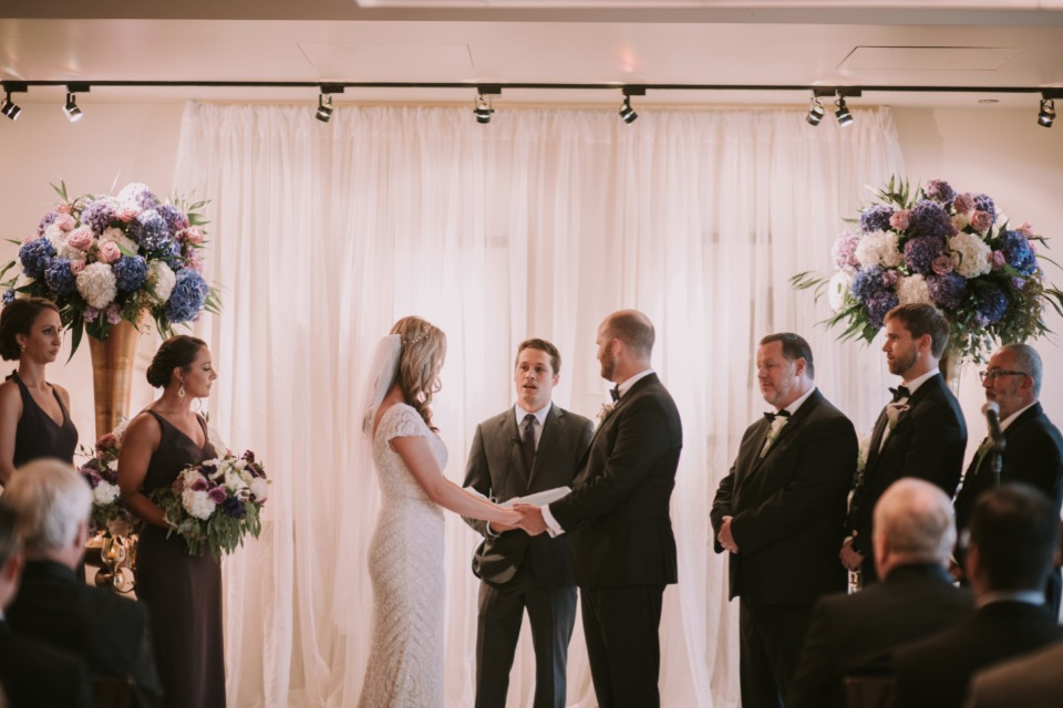 Indoor ceremony in Chicago
