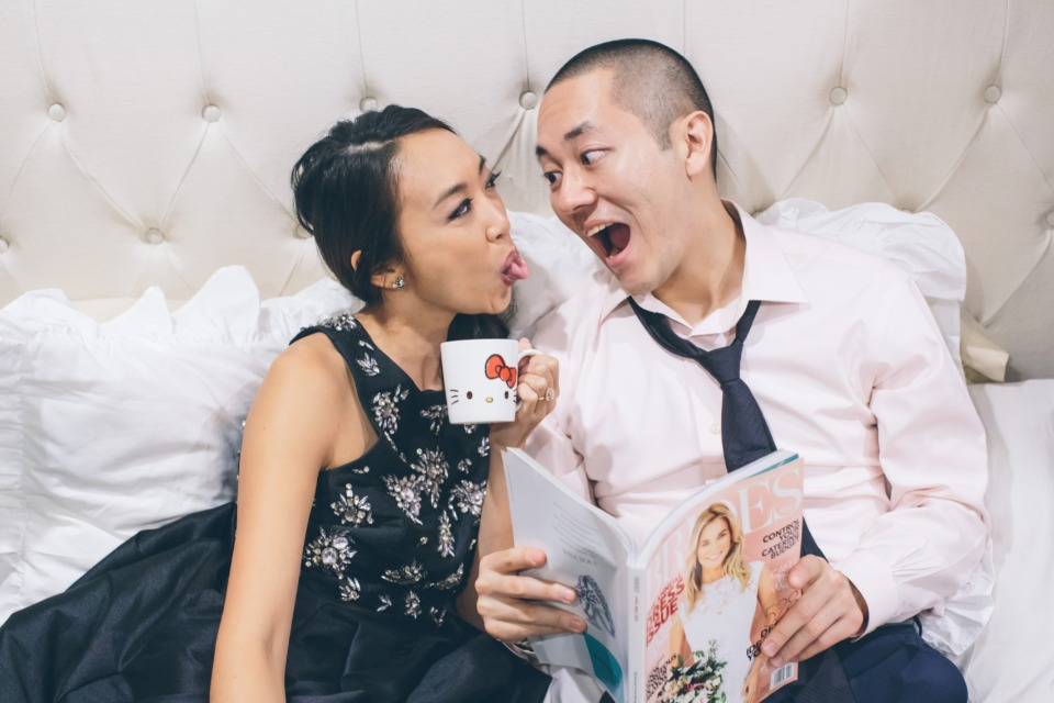 Have fun at your engagement shoot