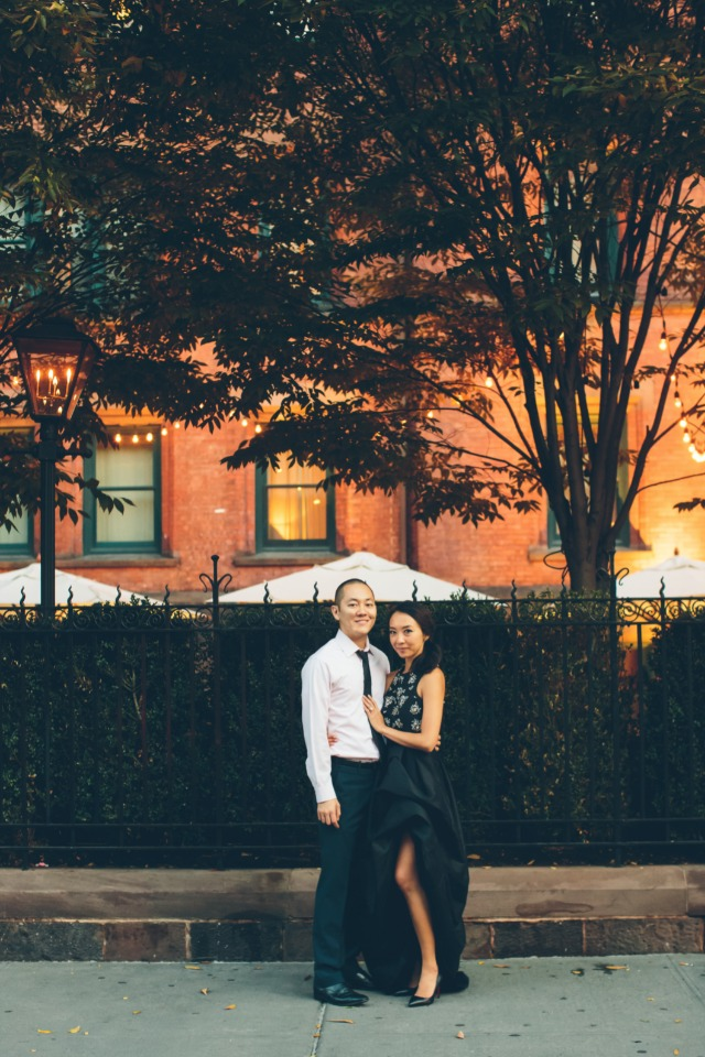 West village engagement shoot