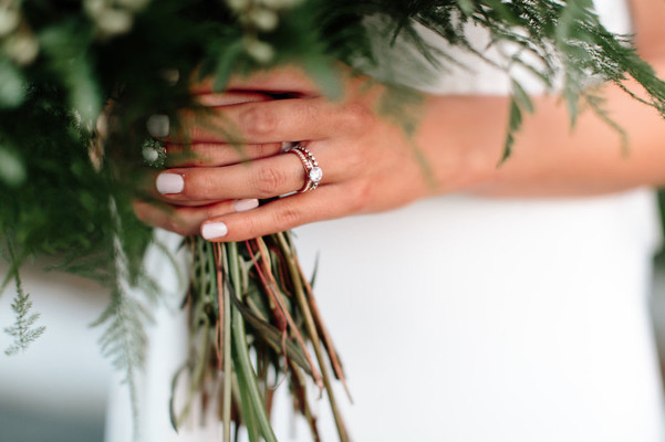 Let The Greenery Do The Talking At Your Boho Romance Wedding