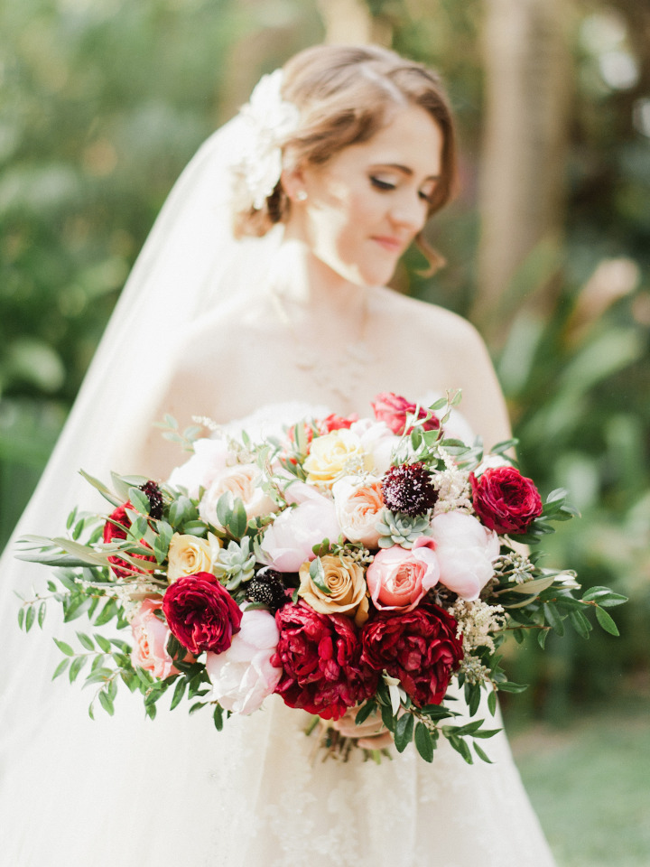 We've Got Florida Envy Thanks To This Tropical Woodland Wedding