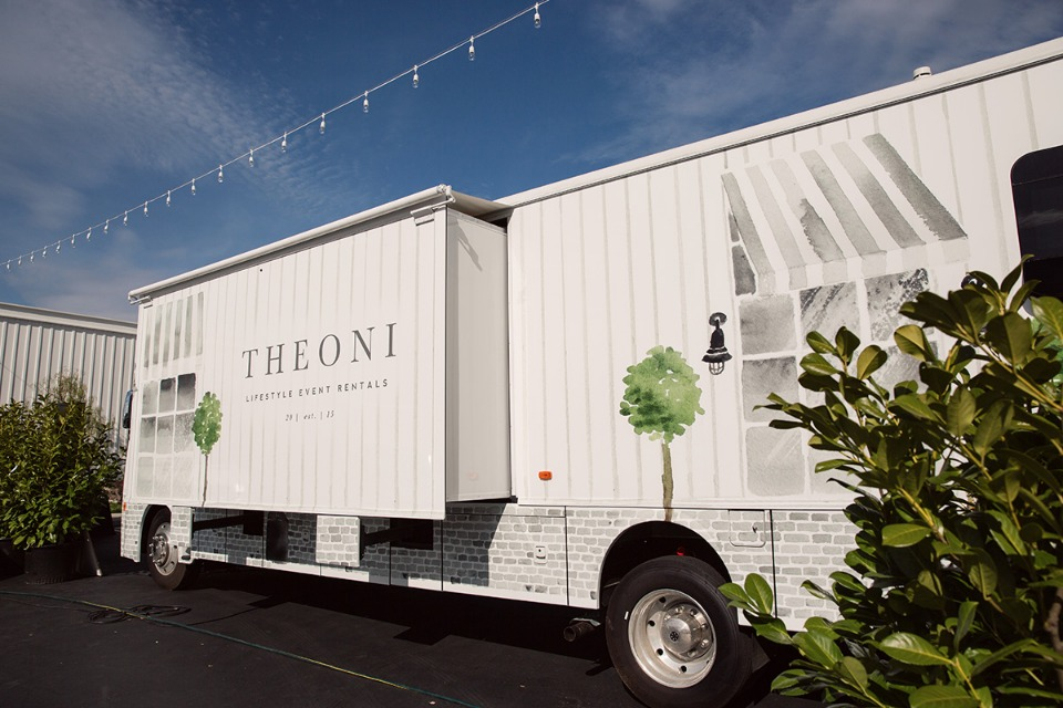 Theoni Lifestyle Event Rentals Truck