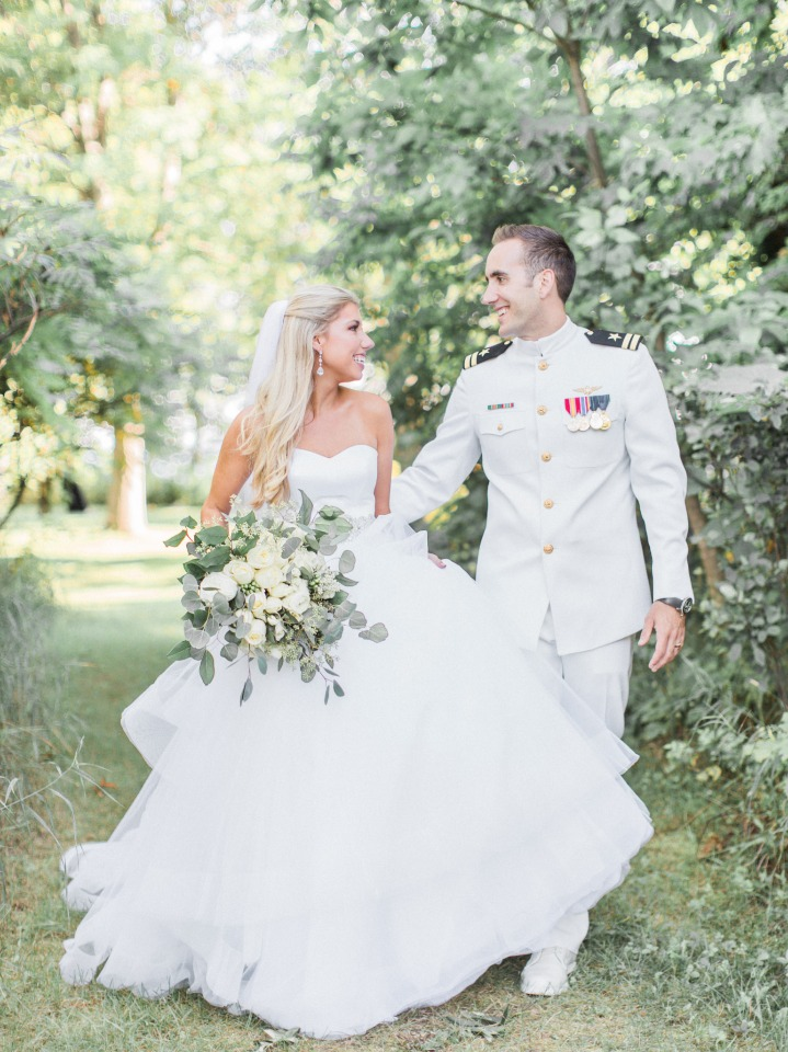 Beautiful outdoor wedding in Michigan