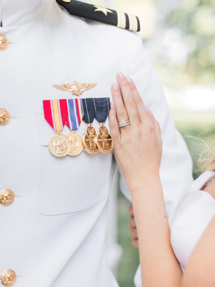 The bride and her pilot