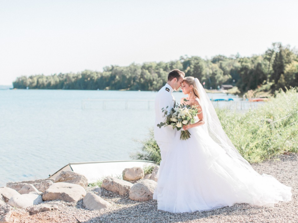 Beautiful Michigan wedding