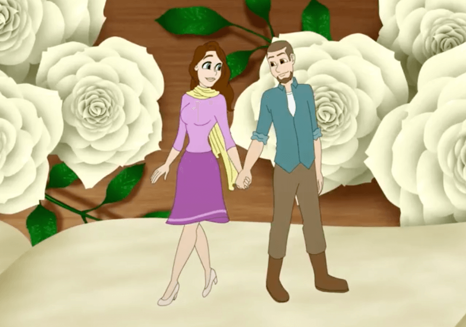 wedding animation for your save the day