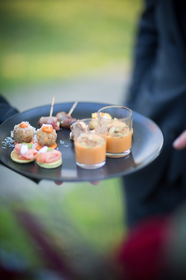 small hor d'oeuvres for your cocktail hour