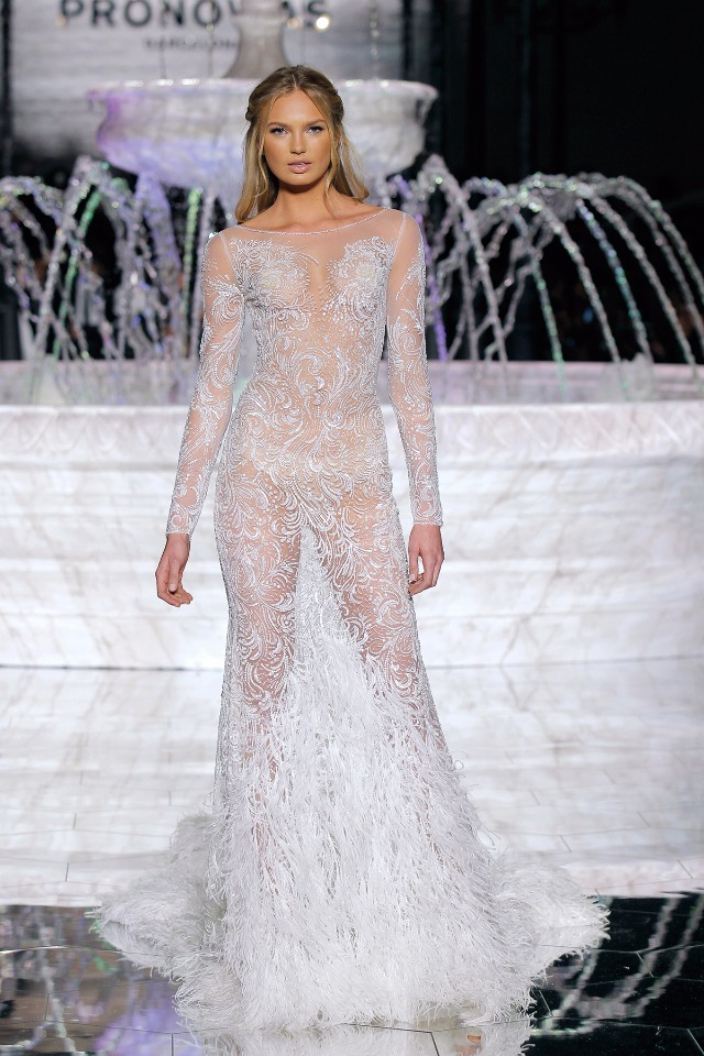 Atelier Pronovias 2018 Collection Romee Strijd