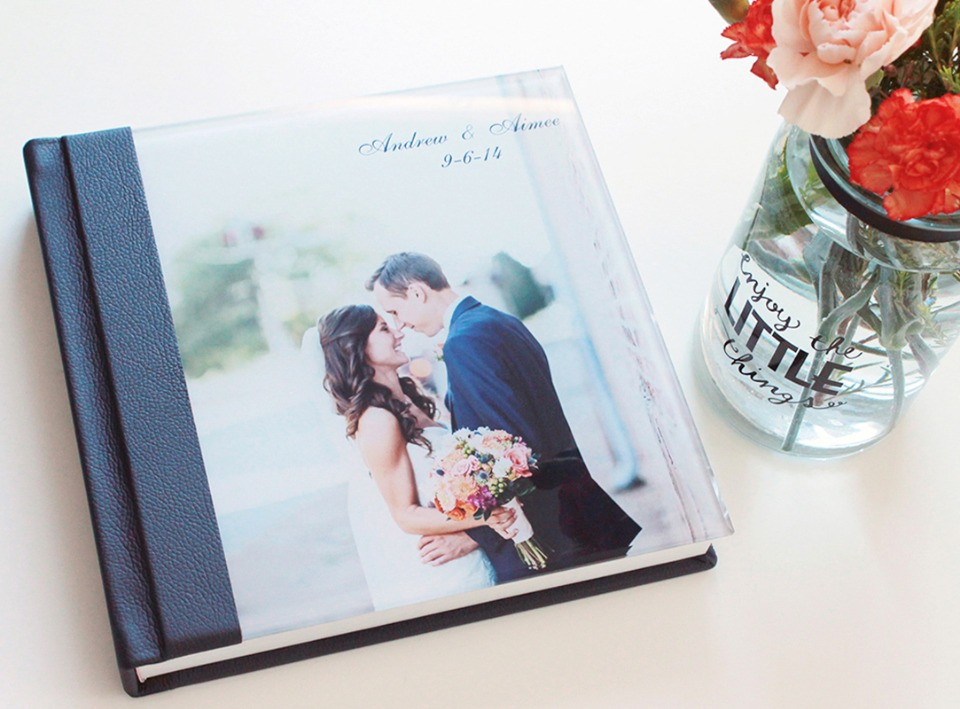 Gorgeous hand bound photo books from Albums Remembered