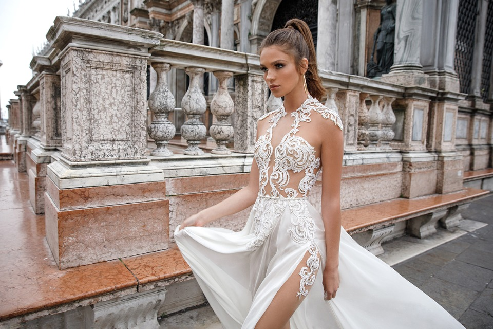 spring 2018 italian wedding dress